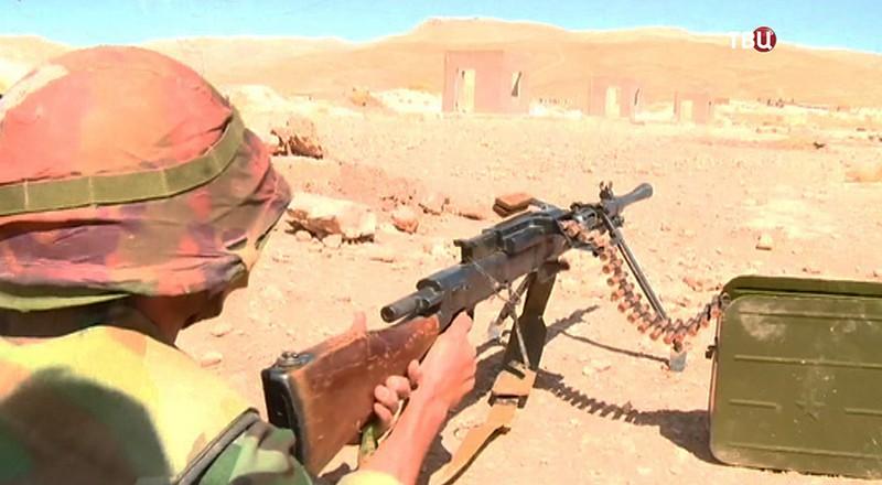 Военная школа в Сирии