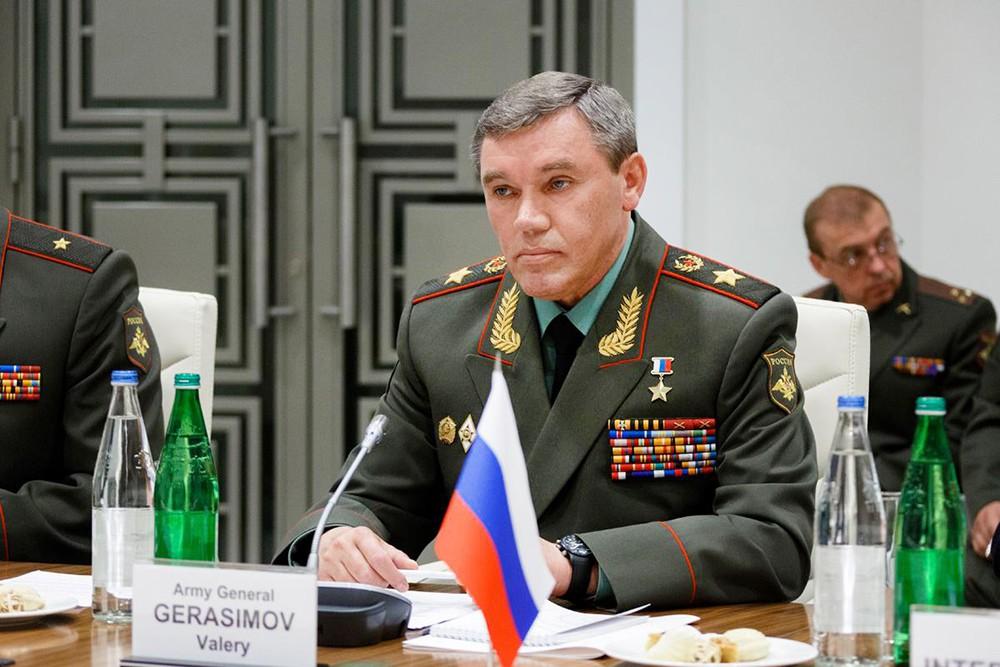 Глава Генштаба России – первый заместитель Министра обороны Валерий Герасимов