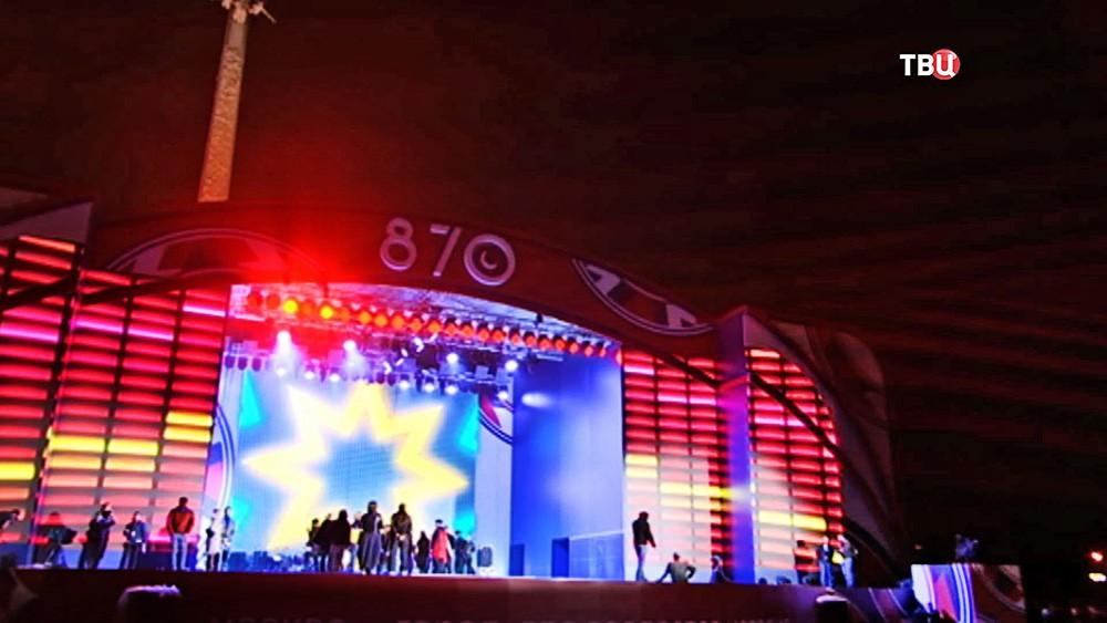 Концерт посвященный Дню города на Поклонной горе