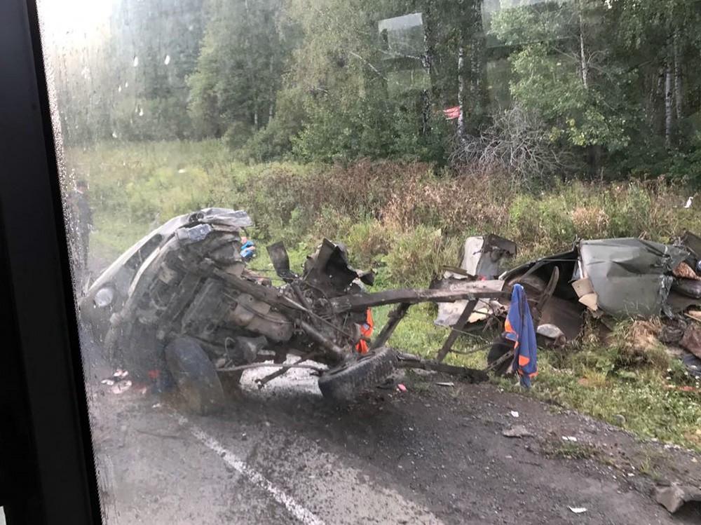 Последствия ДТП в Свердловской области