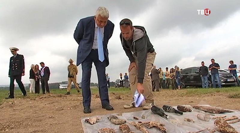 Археологические раскопки во Франции