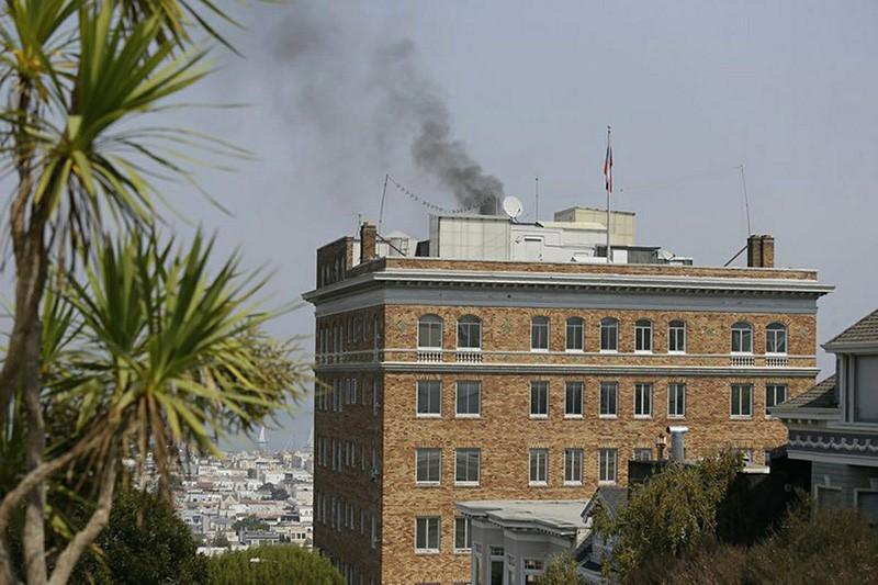 Генконсульство России в Сан-Франциско, США