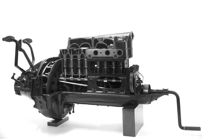 Двигатель автомобиля Ford T
