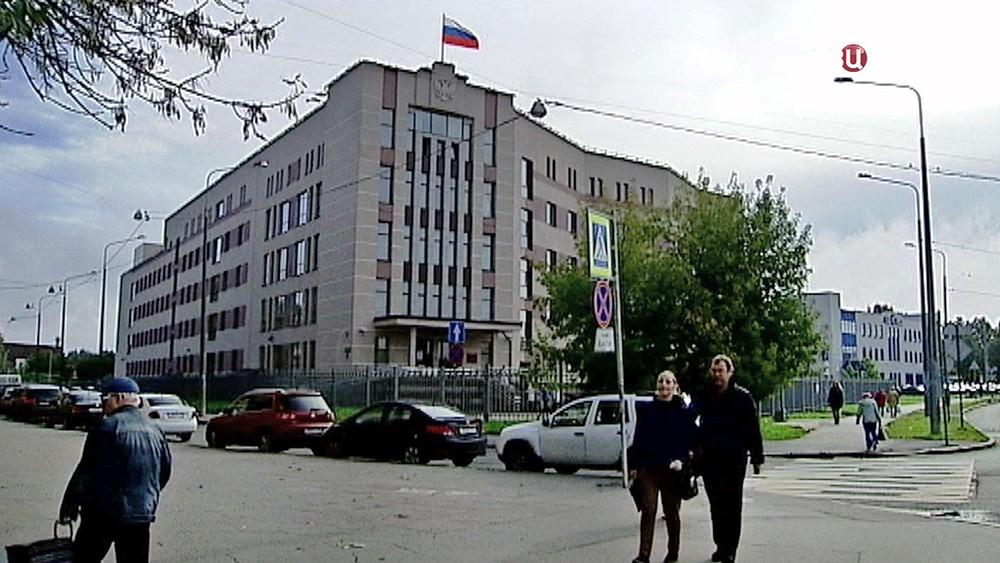 Здание Невского районного суда Санкт-Петербурга
