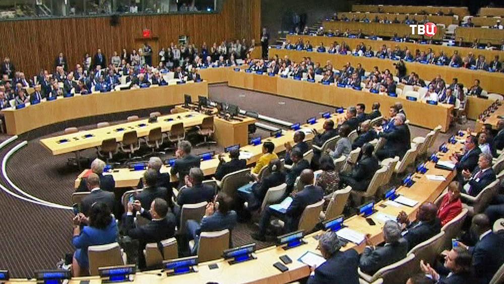 Обсуждение реформы ООН