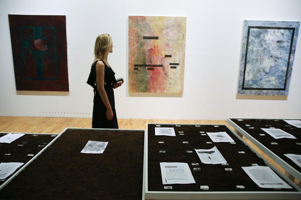 Открытие VII Московской международной биеннале современного искусства в Новой Третьяковке на ул. Крымский Вал₽