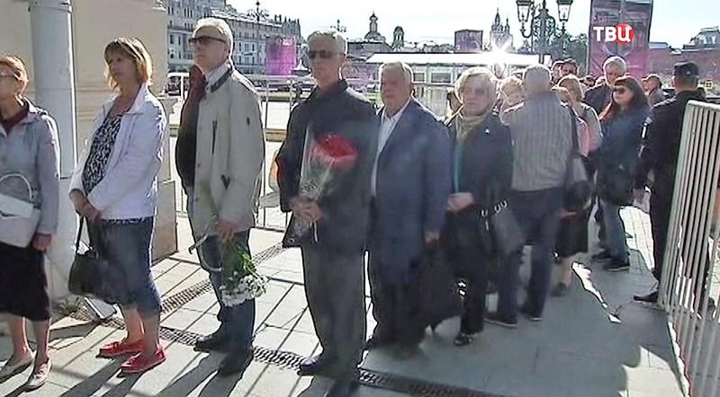 Прощание с Зурабом Соткилавой