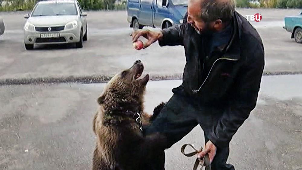 Хозяин медведя