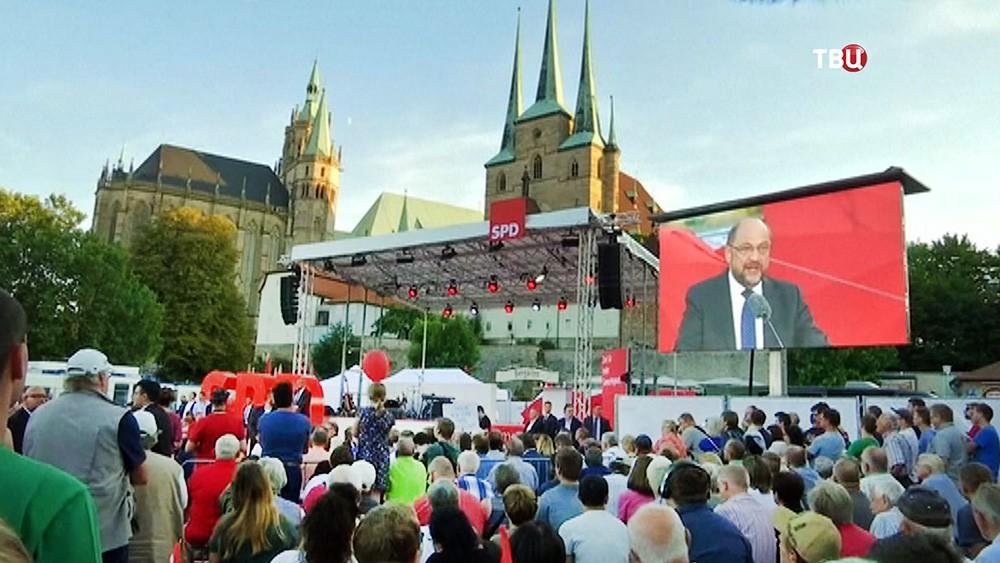 Сторонники политики Мартина Шульца