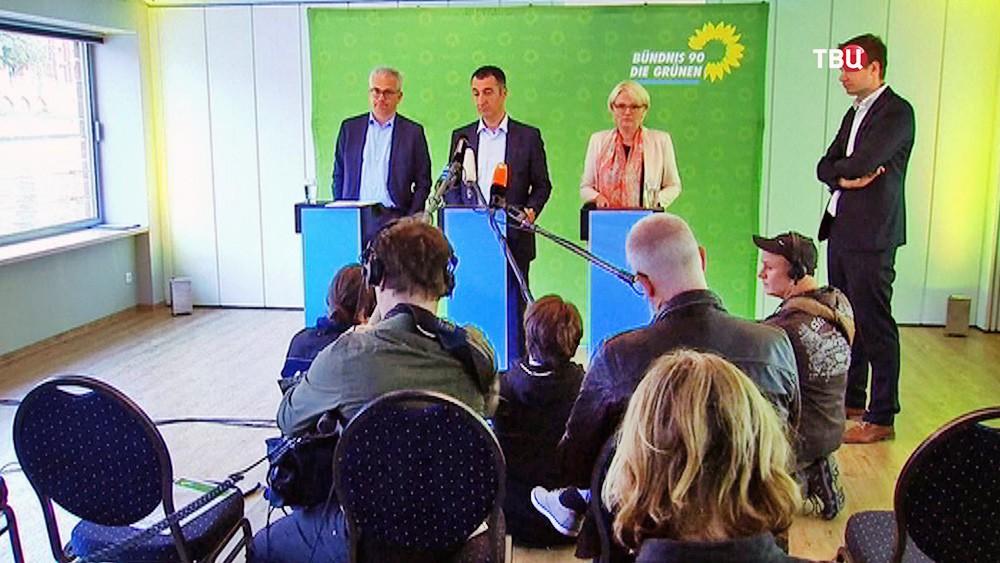 """Партия """"Зелёных"""" в Германии"""