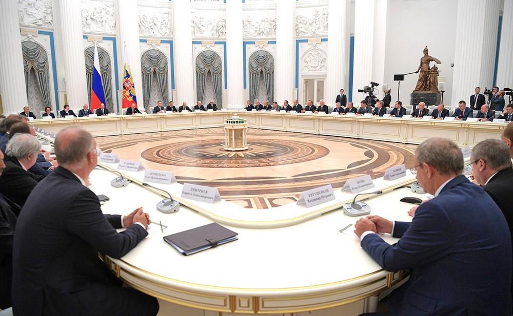 Совещание в Кремле