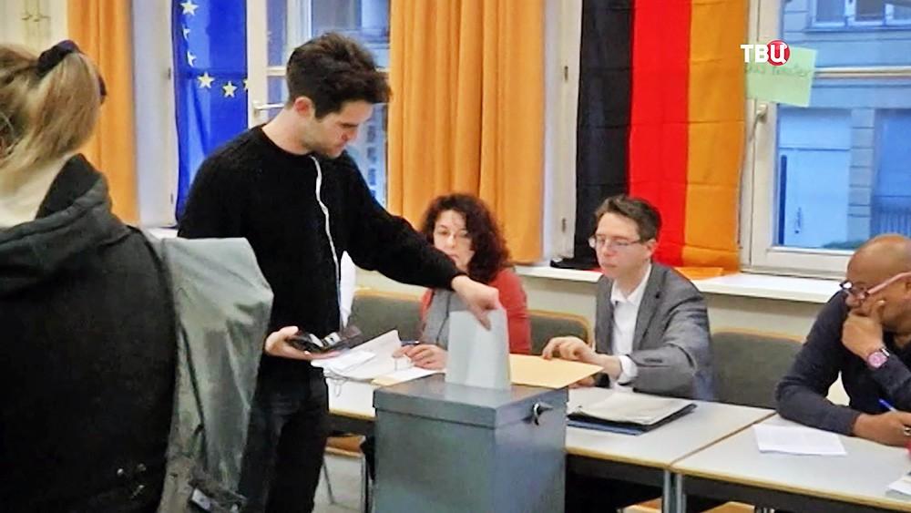 Голосование на выборах в Германии