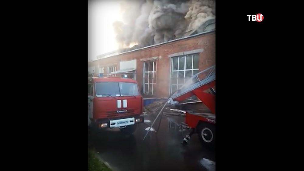 Пожар в Чехове