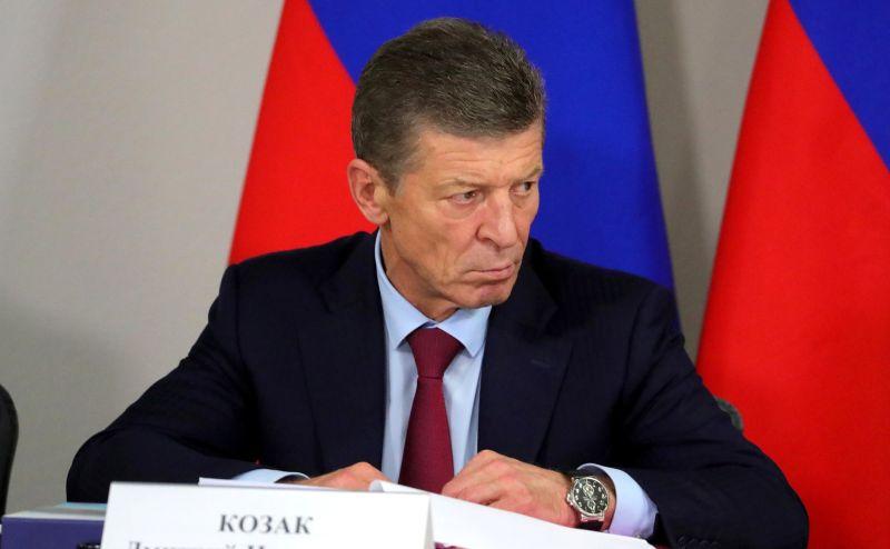Вице-премьер Дмитрий Козак