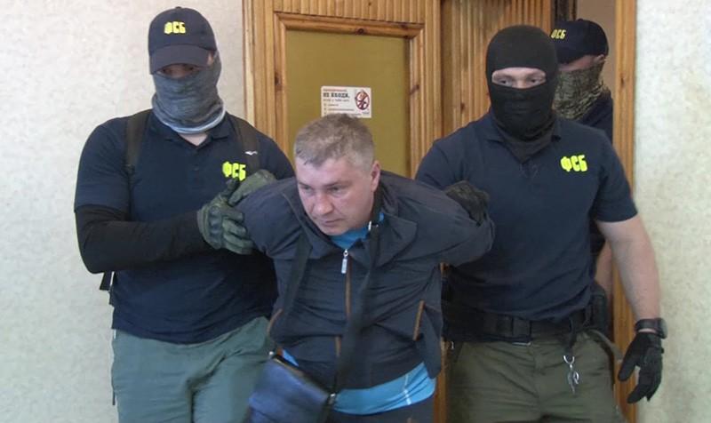 Дмитрий Долгополов, задержанный ФСБ России в Симферополе по обвинению в передаче спецслужбам Украины сведений, составляющих государственную тайну