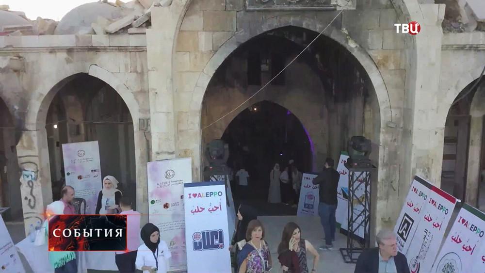 Крупнейший вмире крытый рынок Аль-Мадина снова заработал всирийском Алеппо