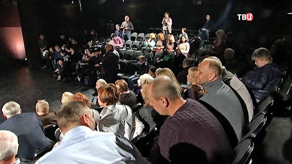 """Сбор труппы театра """"Современник"""""""