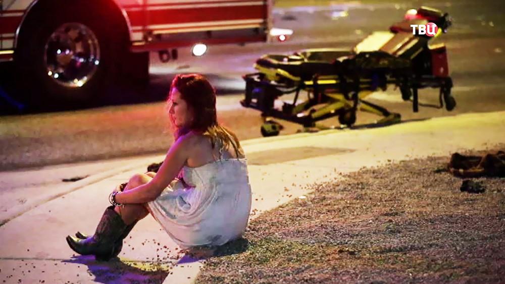 Последствия стрельбы в Лас-Вегасе