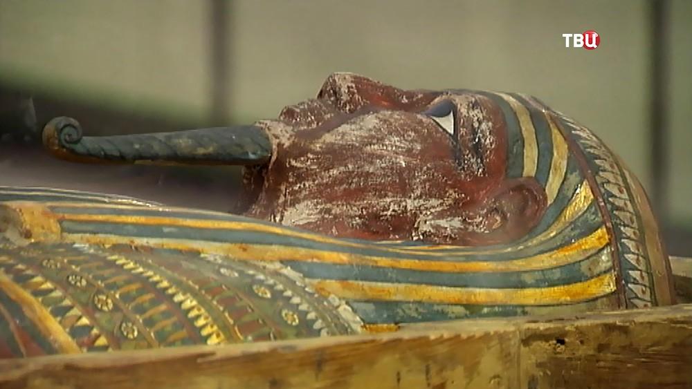 Саркофаг египетской мумии