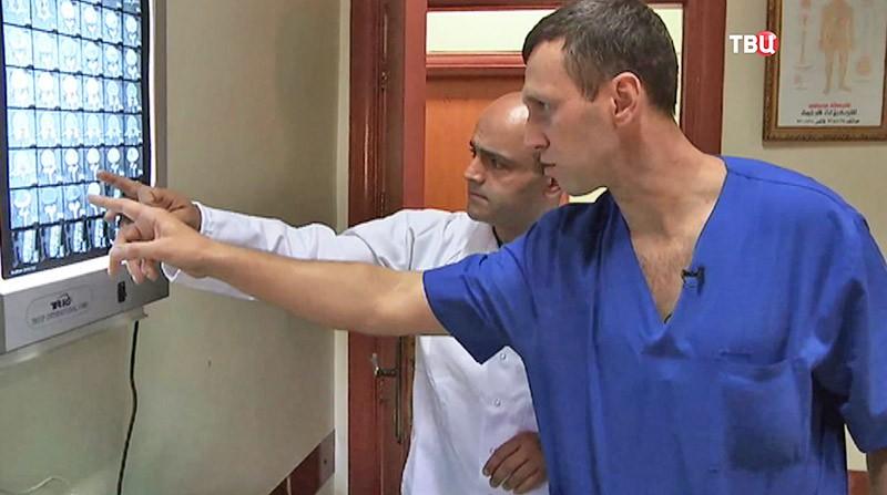 Российские медики в Сирии