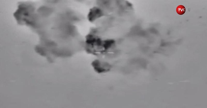 Авиаудары ВКС России по объектам террористов ИГ в Сирии