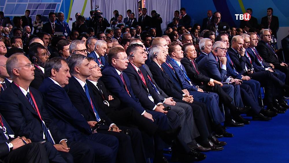 Участники Международного форума по энергоэффективности
