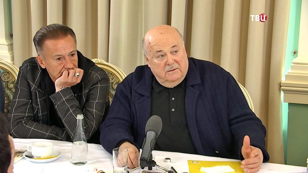 Олег Меньшиков и Александр Калягин