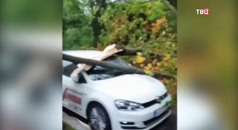 "Мощный циклон ""Ксавьер"" в Германии"