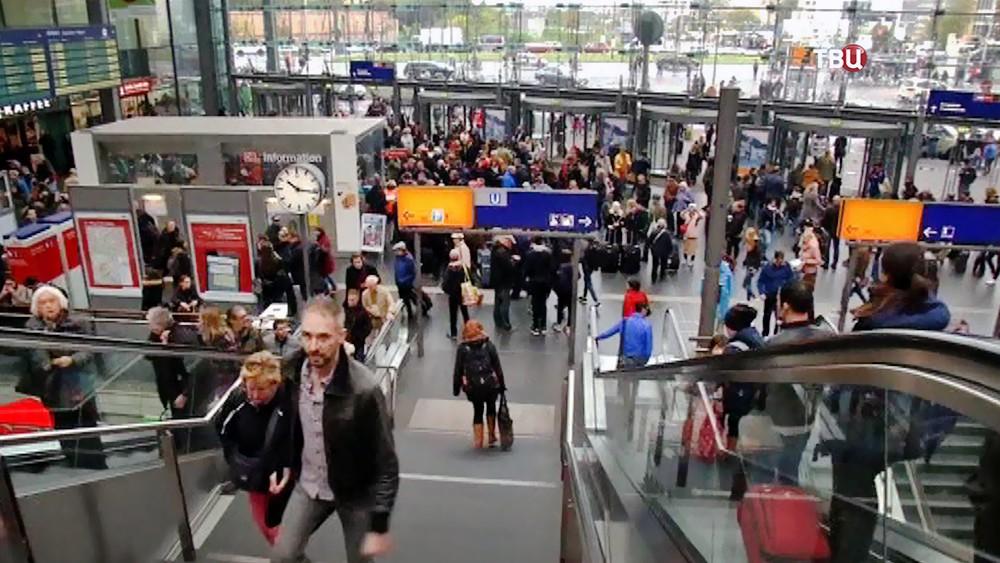 ЗХадержка поездов в Германии