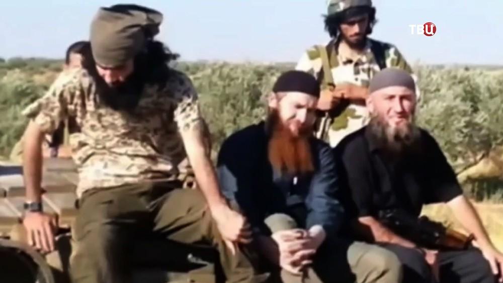 Террорист ИГ Абу Омара аш Шишани