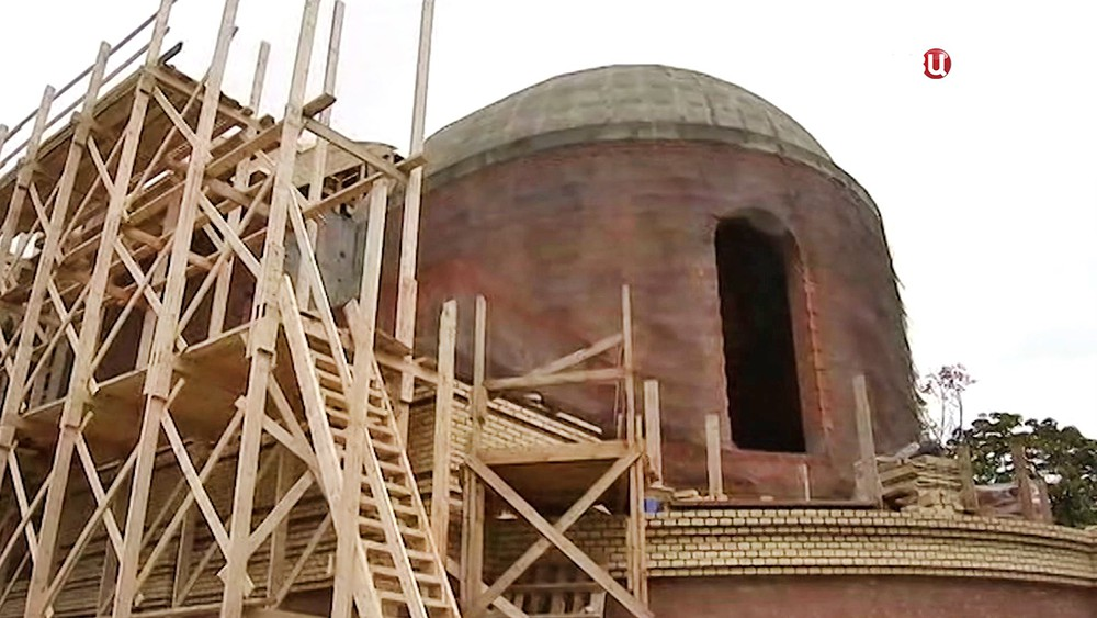 Строительство храма святителя Спиридона Тримифунтского