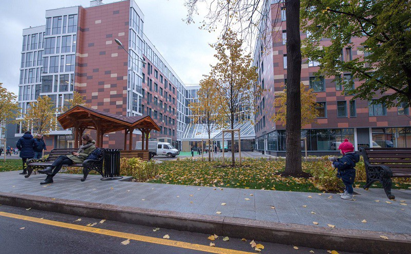 Новый корпус Морозовской больницы