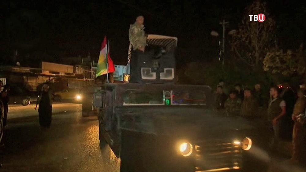 Армия Ирака отбила укурдов электростанцию вКиркуке
