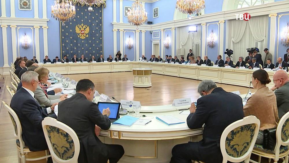 Заседание Консультативного совета по иностранным инвестициям