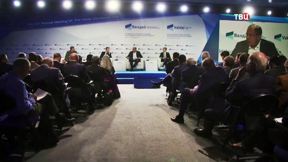 """Участники Международного дискуссионного клуба """"Валдай"""""""