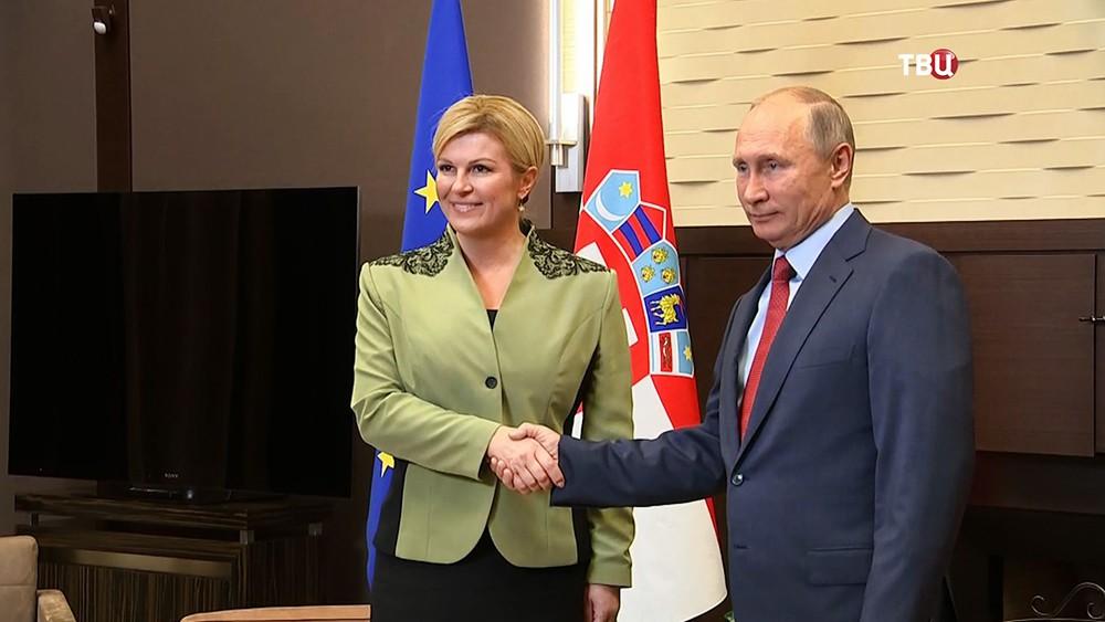 РФ прорабатывает возможность поставок вХорватию судов наподводных крыльях— Путин
