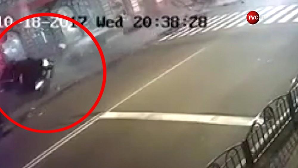 Кадры ДТП в Харькове
