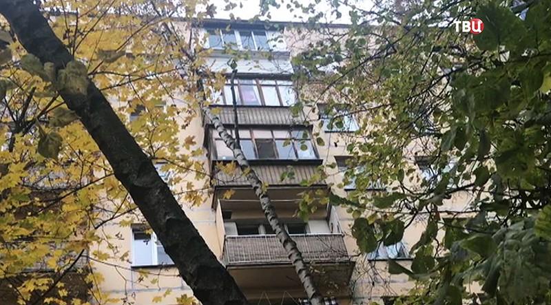 Квартира пожилой женщины