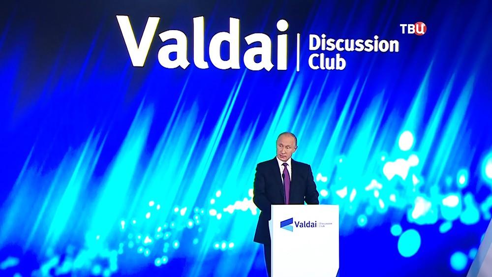 Ввиде борьбы стерроризмом наБлижнем Востоке поддерживают хаос— Путин