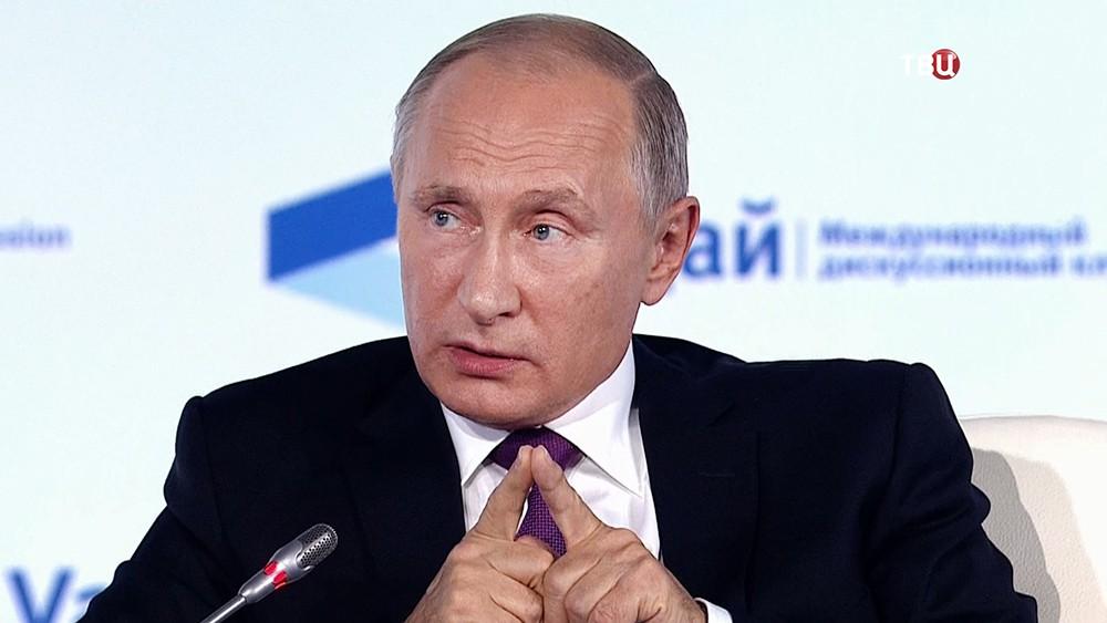 Путин сообщил, что женщина вполне может стать следующим президентом Российской Федерации