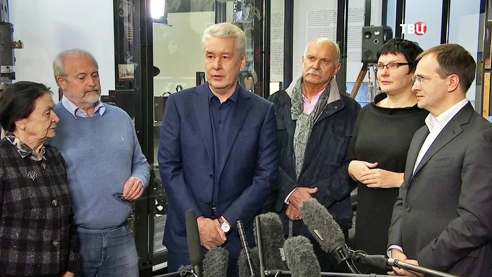Сергей Лавров во время открытия Музея кино на ВДНХ