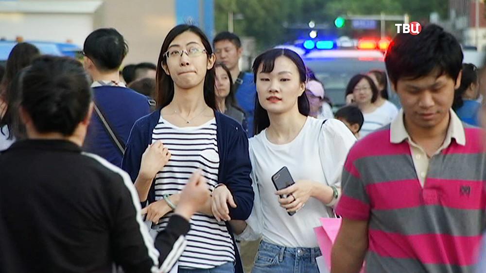 Жители КНР
