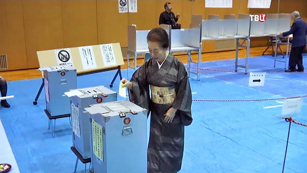 Голосования на выборах в Японии