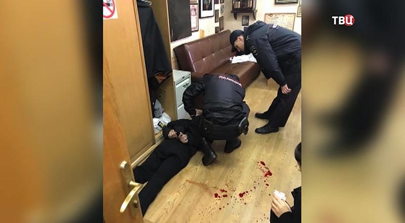 Задержание подозреваемого в нападении на Татьяну Фельгенгауэр