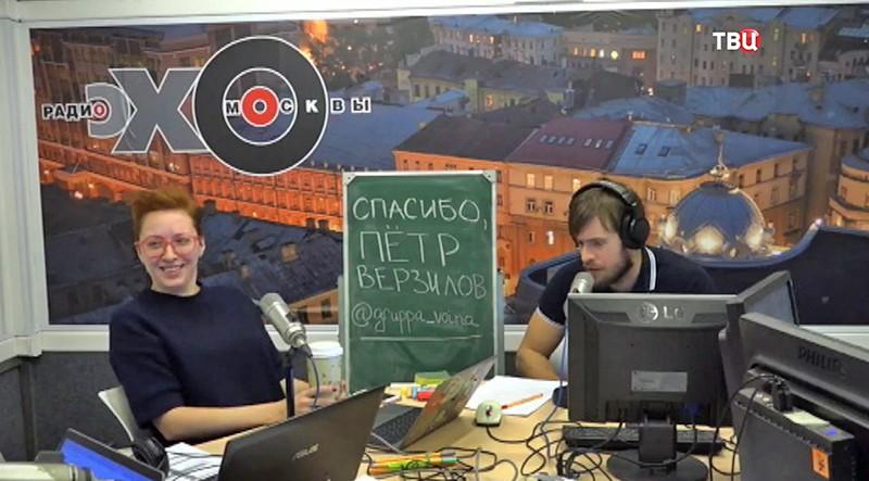 Татьяна Фельгенгауэр ведет эфир