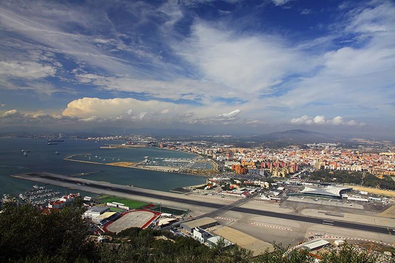 Аэропорт Гибралтара, Великобритания
