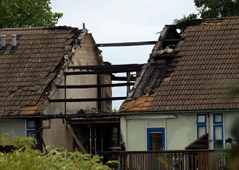 Взрыв бытового газа в жилом доме