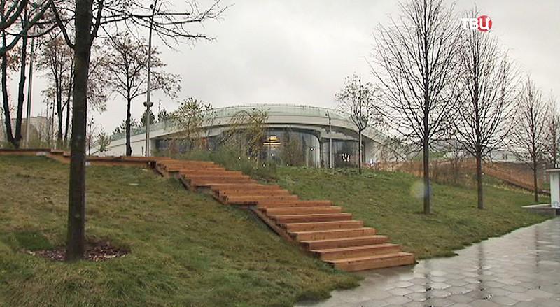 Навсей территории парка «Зарядье» появился