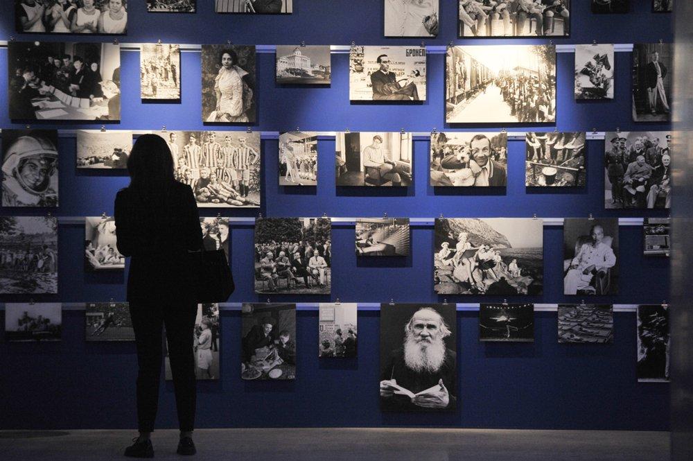 Выставка ТАСС