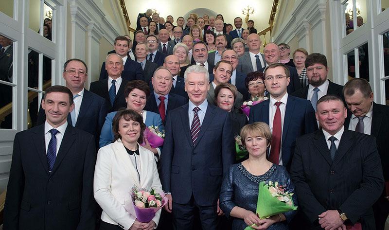 Церемония вручения государственных наград и наград города Москвы
